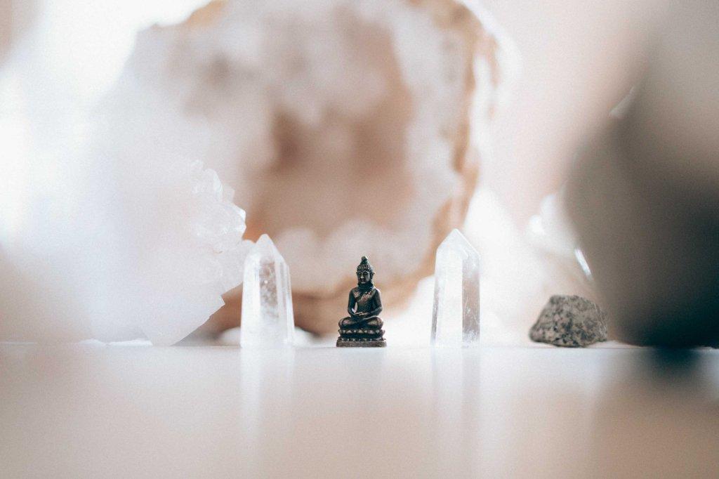 pointe cristal boudha